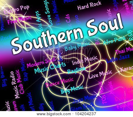 Southern Soul Shows American Gospel Music And Blues