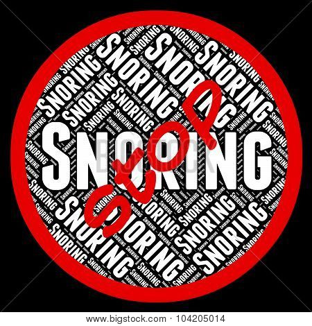 Stop Snoring Means Obstructive Sleep Apnea And Caution