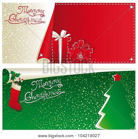 Christmas Horizontal Banners