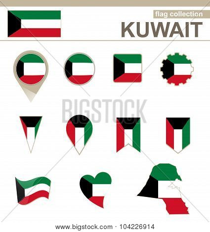 Kuwait Flag Collection