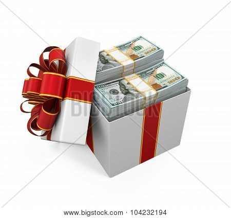 Gift Box Full of Money