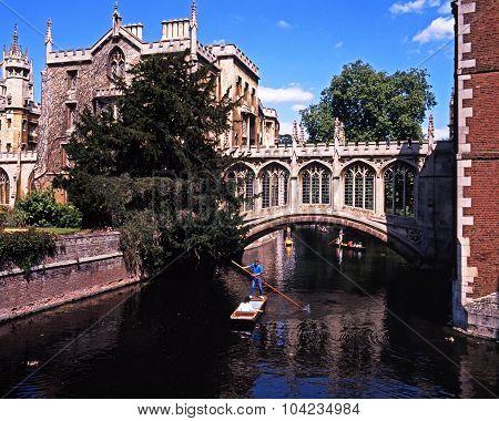 Bridge of Sighs, Cambridge.