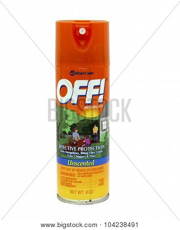 Can Of Off Insect Repellent