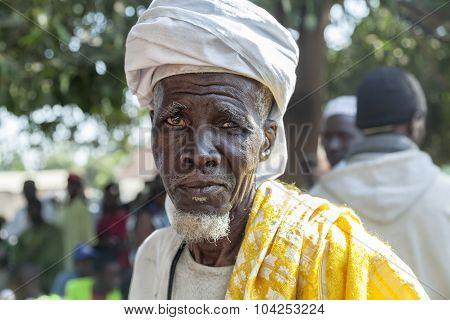 African Village Chief