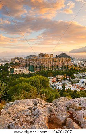 Acropolis in Athens.