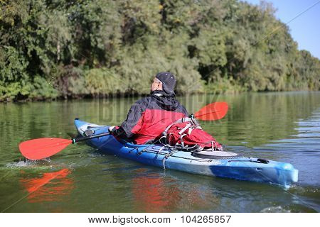 Kayaking the Colorado River (Between Lees Ferry and Glen Canyon Dam)Kayaking the Colorado River (Between Lees Ferry and Glen Canyon Dam) poster