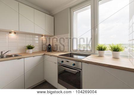 Modernized And Spacious Kitchen