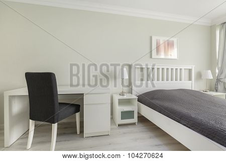 Mainstream Bedroom Of Teenage Boy