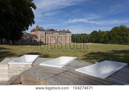 Castle Of Chamarande, Essonne, France