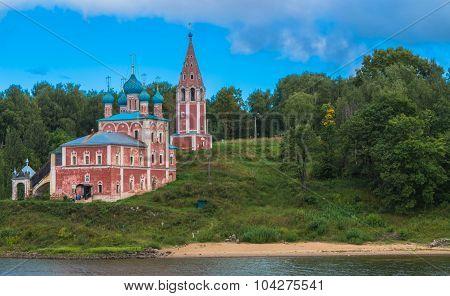 Church along the Volga River