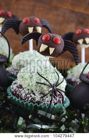 Happy Halloween Ghoulish Cupcakes