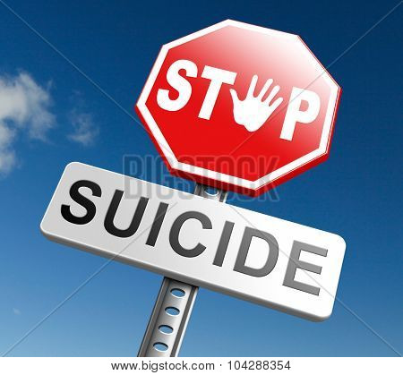 suicide prevention campaign to help suicidal people