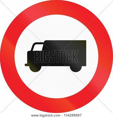 No Lorries In Austria