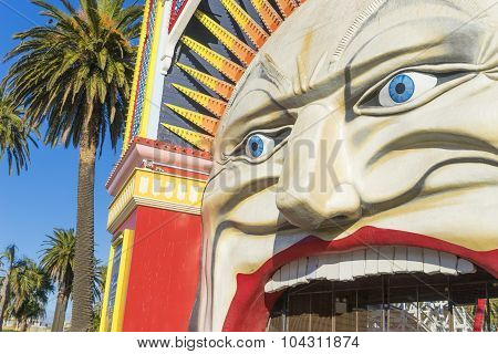Luna Park In Melbourne