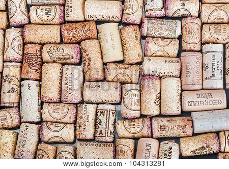 Wine Corks Famous Wine Producers Massandra, Chateau, Inkerman, Etc