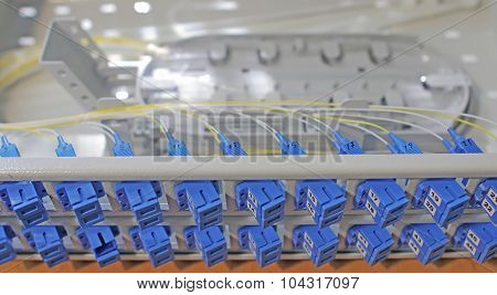 Optical patch panels