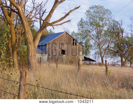 An Autumn Barn