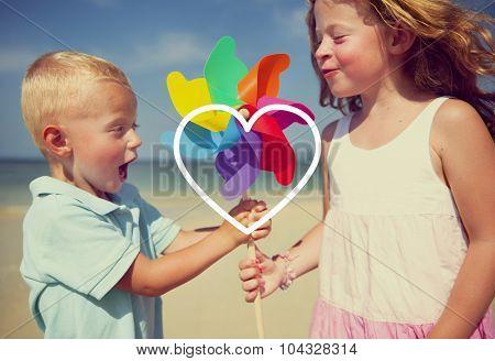 Love Like Passion Romantic Affection Devotion Joy Life Concept