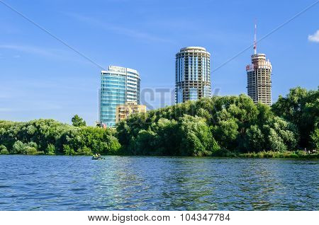 View Of The Business Center Yekaterinburg-city