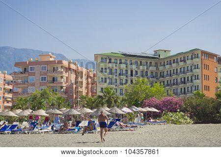 Sun fire beach hotel in Kemer Turkey, may