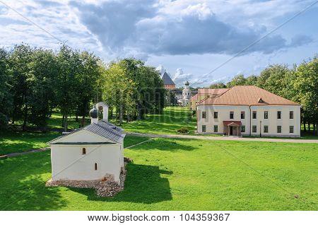 On The Territory Of  Novgorod Kremlin