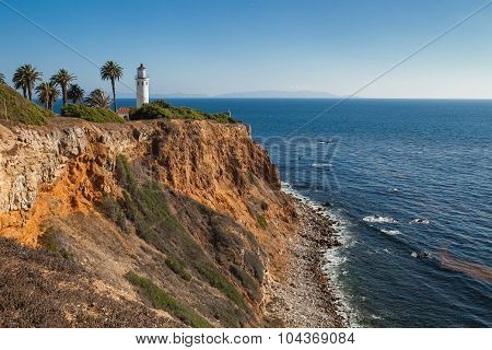 Point Vicente Lighthouse. Rancho Palos Verdes, California, USA.