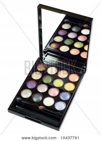 Colored Eye Shadows Set