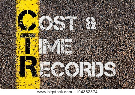 Business Acronym Ctr As Cost And Time Records