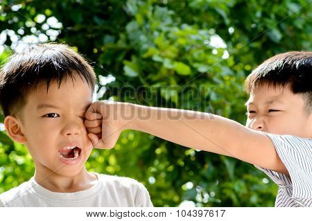 Punch On Face