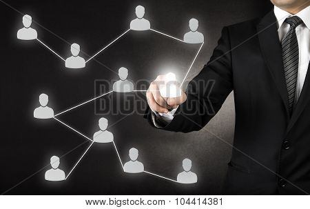 Business networking and acquaintances