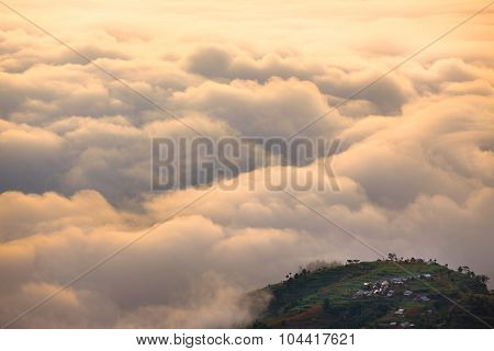 Between The Clouds And Land