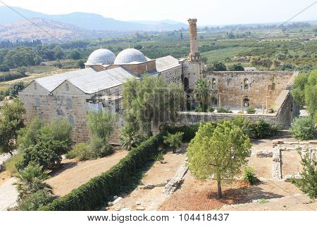 Isa Bey Mosque in Selcuk Turkey
