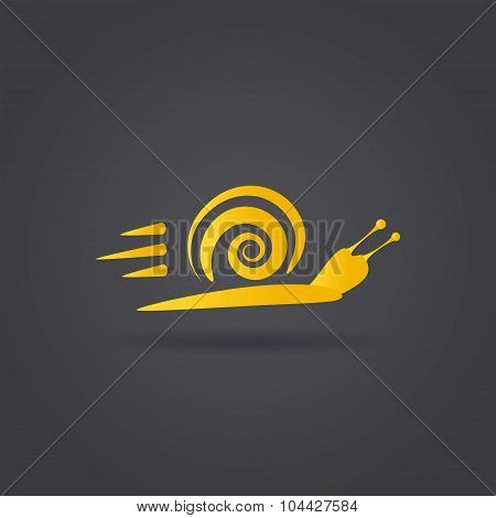 Fast Snail Icon