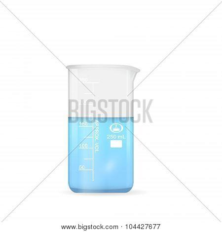 Chemical Beaker, 250 Ml Volume