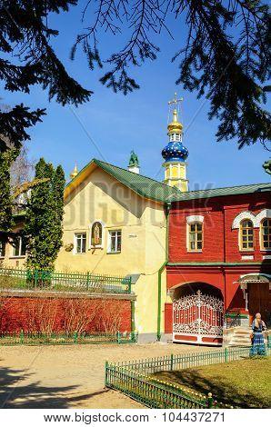 The Church Of Lazarus in Pskov region,Russia