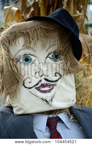 Businessman Scarecrow