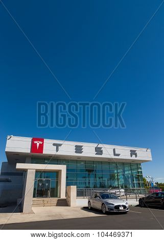 Tesla Motors Automobile Dealership