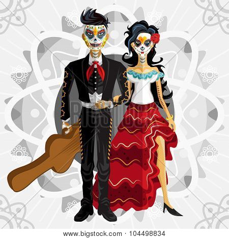 Dia De Los Muertos Day Of The Dead Bride