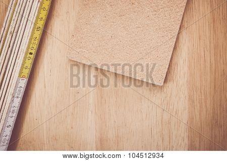 Thermal Insulating Compressed Hemp Fiber Panel And Yardstick