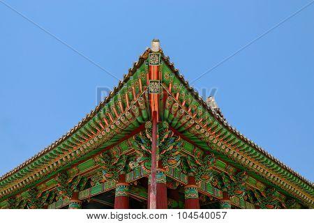 Korean traditional building