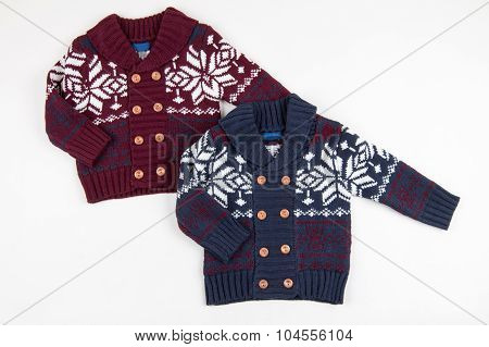 Two Children Warm Vest (sweaters)