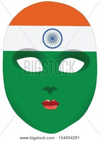 India Mask
