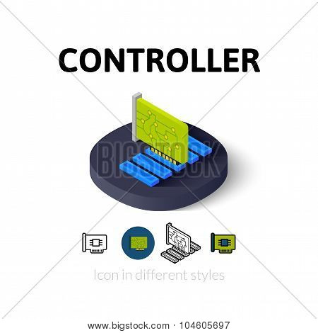 Controller icon in different style