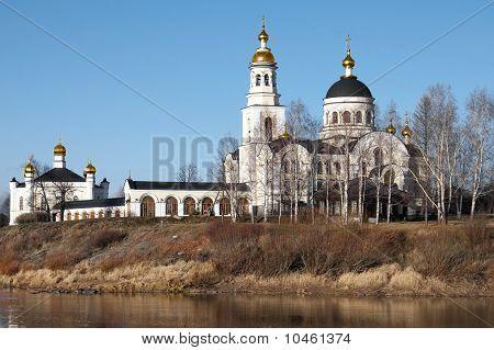 Compound Novo Tikhvinsky Nunnery