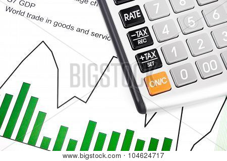 Gdp And Data Report - Chart, Calculator