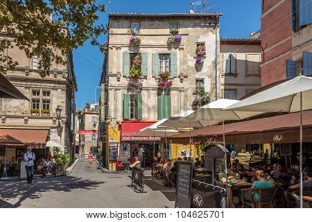 In The Streets Of Arles