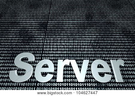 Server Binary Background.