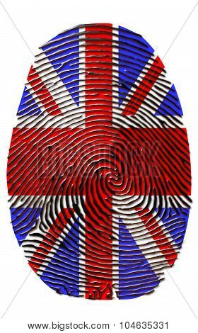 Union Jack Fingerprint