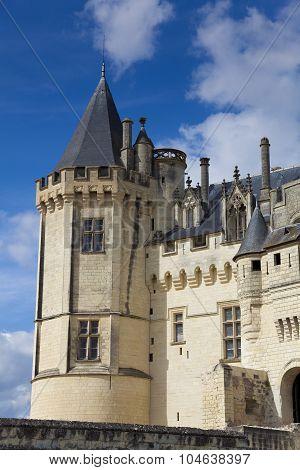 Castle Of Saumur, Maine-et-loire, Pays De La Loire, France