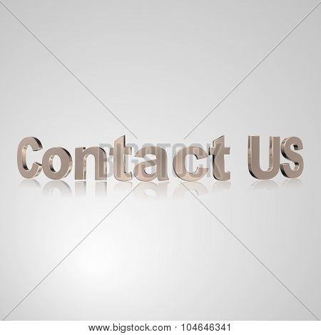 3D Text Contact Us